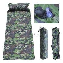 все цены на Self Inflating Camping Roll Mat/Pad Sleeping Bed Inflatable Pillow Mattress +Bag онлайн