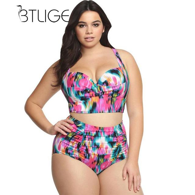 Sex plus size swim wear
