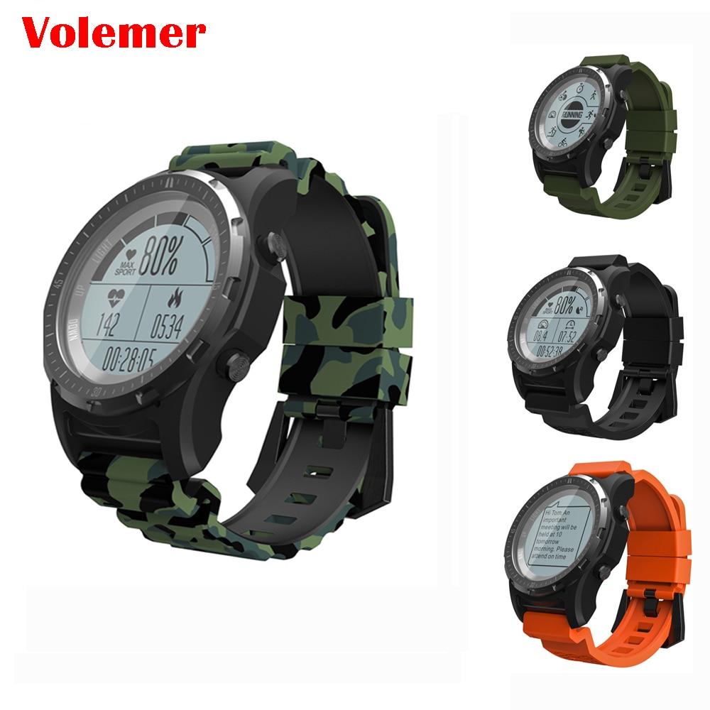 Smart Watch S966 GPS Heart Rate monitor Smartwatch Heart Rate Monitor Temperature Multi sport Men Compass Running Sport Watch