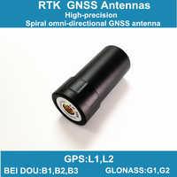 Spirale GNSS antenne eine-306, licht drone RTK unterstützung GPS/GLONASS/Beidou satellite navigation system, luft UAV/UGV antenne