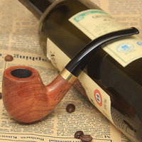 Scotte Tobacco Pipe Handmade Pear Wood root Smoking Pipe Gift Box