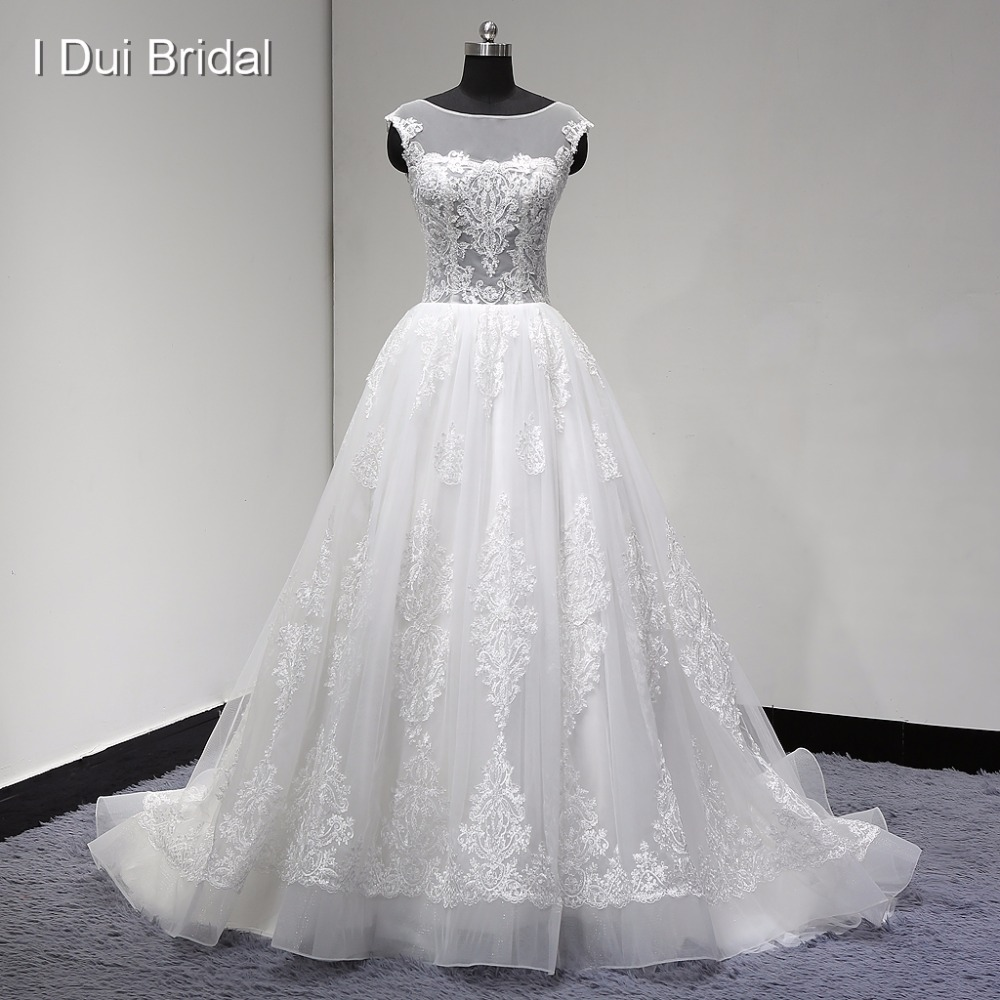 Real Wedding Dress See Through Corset Lace Skirt Unique Design Factory High Quality