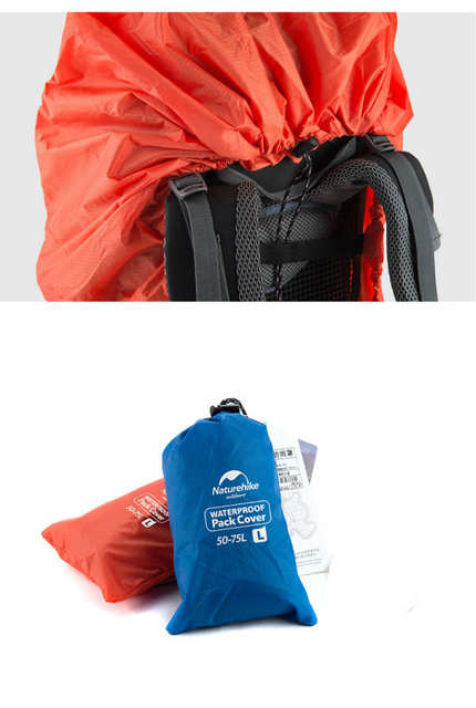 44daf4f1ae5b Online Shop Naturehike Waterproof Rain Cover Backpacks Outdoor Climbing  Hiking Mud Dust Case Bag For 20L 30L 50L 70L Rucksack 2 Colors