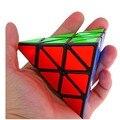 2015 Nueva Shengshou Pirámide Del Triángulo Pyraminx Negro blanco profesional Cubo Mágico Speed Puzzle Educativos Toy Especial Envío Gratis