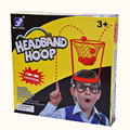 Children's leisure overhead ball circle parent-child throwing toy head hoop family game interactive party game kindergarten toys