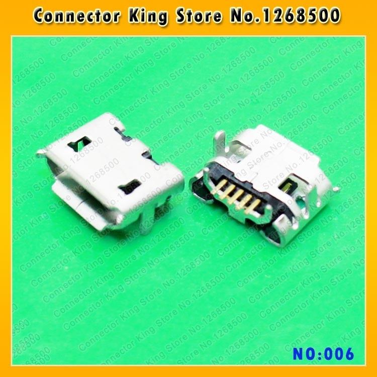 ChengHaoRan 100PCS New USB Jack For ASUS Memo Pad HD 7 ME173X Micro USB DC Charging Socket Port Connector,MC-006