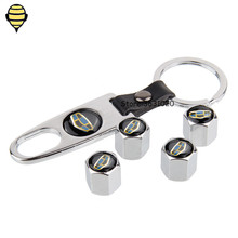 Car Styling Wheels Tire Valve Stem Caps Cover Rims Sticker For Geely Emgrand EC7 EC8 X7 EV8 EX7 CK MK BL King Kong GX7 GE GT 7 цена