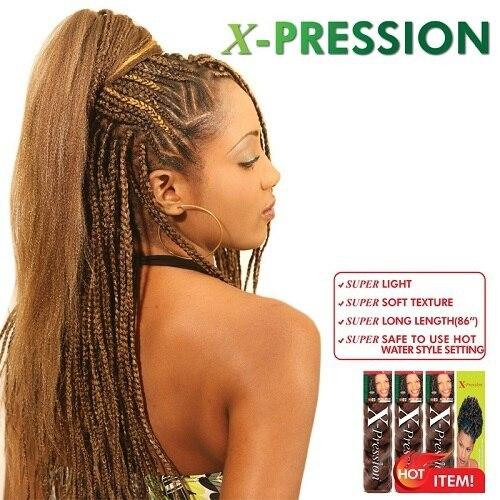 30 Lot Free Shipping Braiding Hair Outre X Pression 100 Kanekalon
