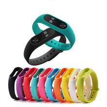 For Xiaomi Mi Band 2 Strap Replacing Smart Bracelet Accessories xiaomi band Colorful Silicone strap