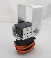 2 Degrees of Freedom Head Actuator Bracket Metal Steering Wheel Robot Arm Joint