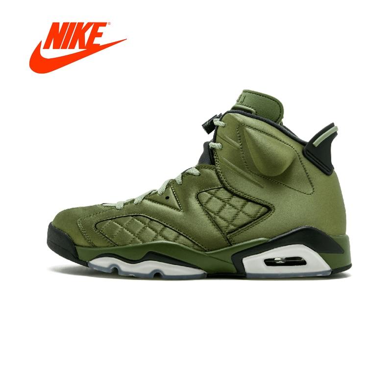 Original New Arrival Authentic NIKE Air Jordan 6 Retro Pinnacle Mens Basketball Shoes Sneakers Sport Outdoor Good Quality new japanese original authentic vfr3140 5ezc