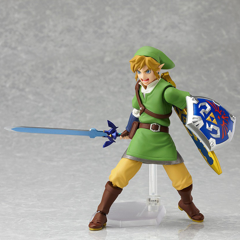 16cm PVC Fighting Zelda Legend of Zelda Game Figma Skyward Sword Action Figures Anime Collection Toys Doll