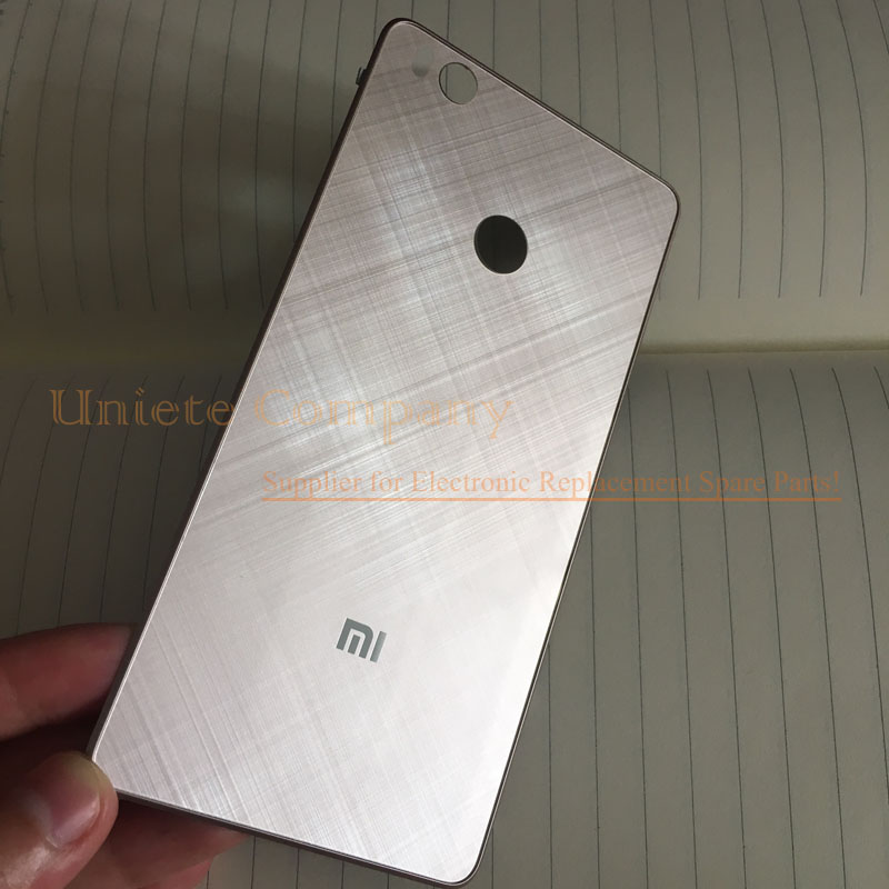 High Quality Golden for Xiaomi Mi4S Back Battery Cover for Xiaomi Mi 4S Glass Door Housing