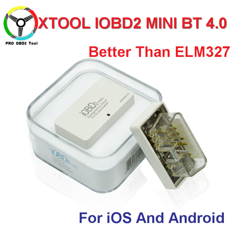 <font><b>2017</b></font> Newest Original IOBD2 MINI <font><b>Bluetooth</b></font> <font><b>OBD2</b></font> Interface Works On Android/IOS XTool IOBD MINI Better than ELM327 free ship