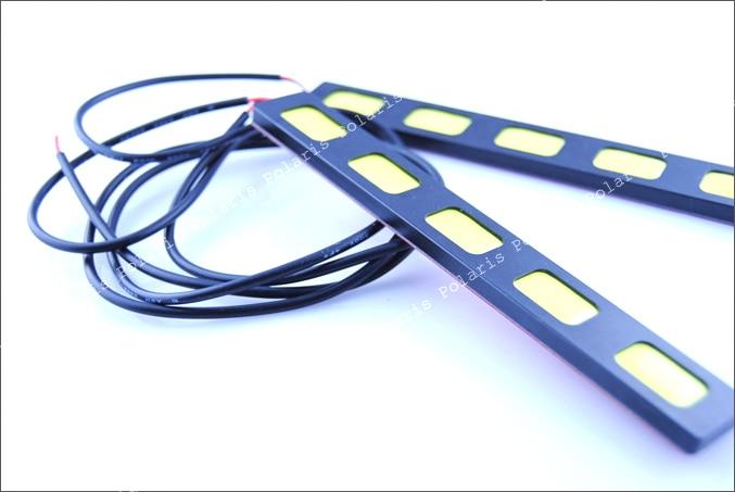 2019 BARU 30w tongkol drl mobil dipimpin Daytime Running Light day - Lampu mobil - Foto 4