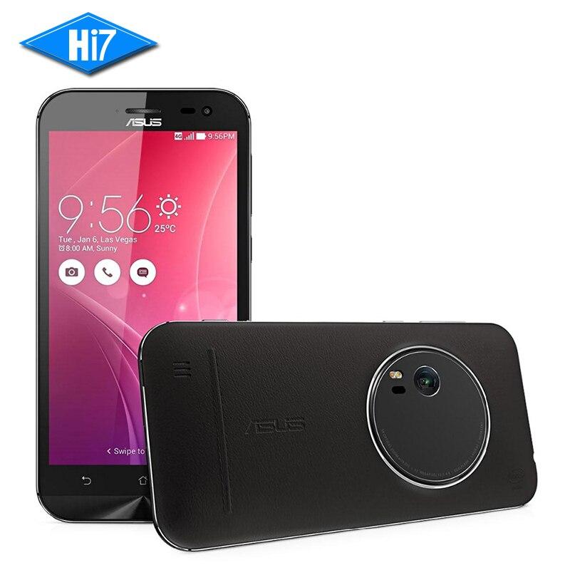 New Original Asus Zenfone Zoom ZX551ML Quad Core 4GB RAM 128GB ROM 5.5 inch 4G LTE mobile phone 13.0MP Camera Smartphone 3000mAh