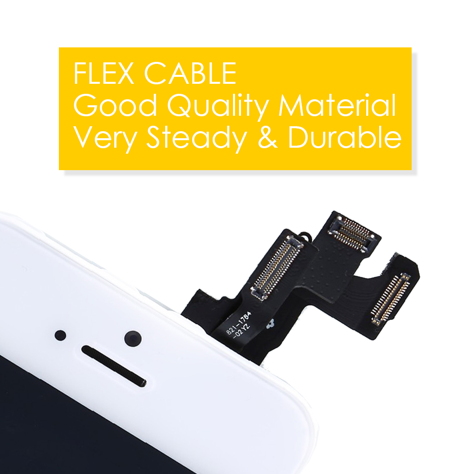 Image 5 - Black/White Full Assembly LCD Display Digitizer for iPhone 5 S C Se AAA LCD Touch Replacement Screen i Phone 5S 5C No Dead Pixel-in Mobile Phone LCD Screens from Cellphones & Telecommunications