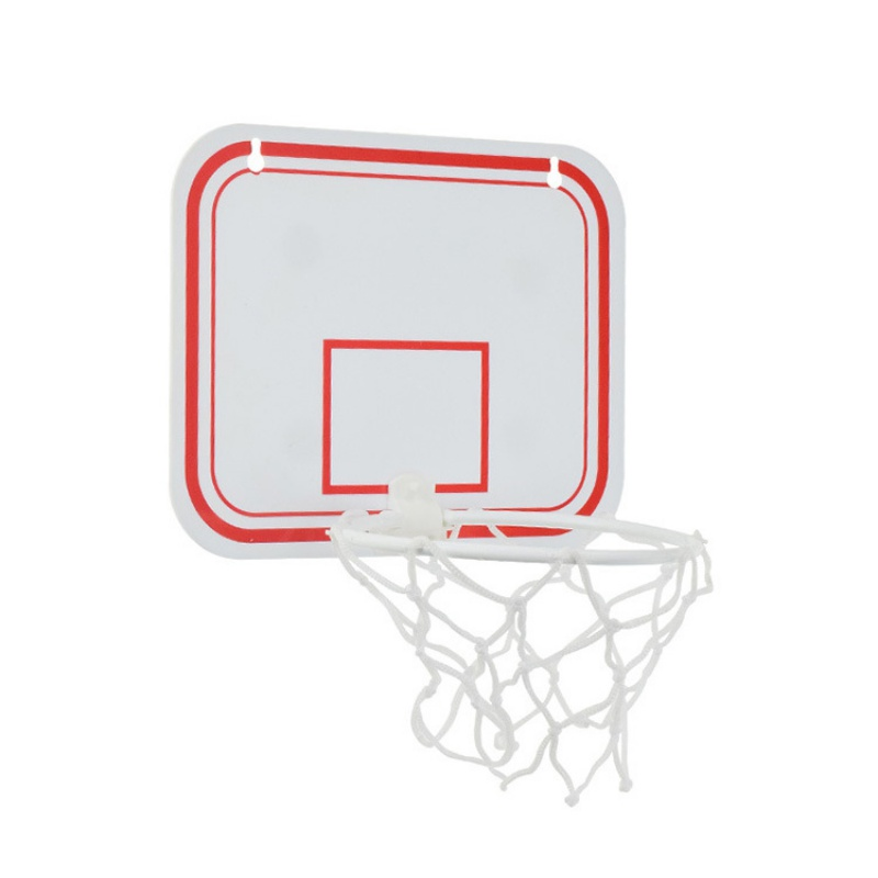 Basketball Hoop Plastic Toy Rebounds Indoor Adjustable Hanging Basketball Netball Hoop Basketball Box Mini Basketball Board