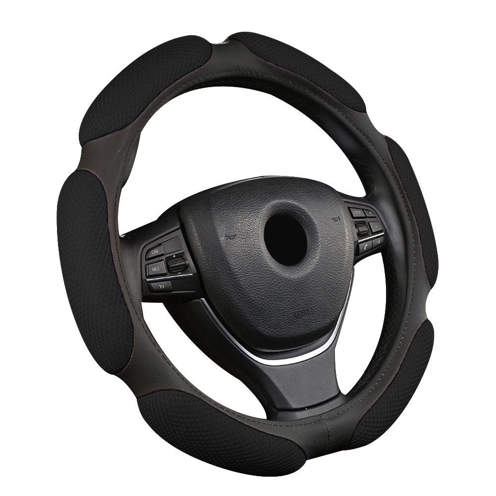 Universal Car Vehicle Breathable Anti Slip Steering Wheel Cover Guard Protector in Steering Covers from Automobiles Motorcycles