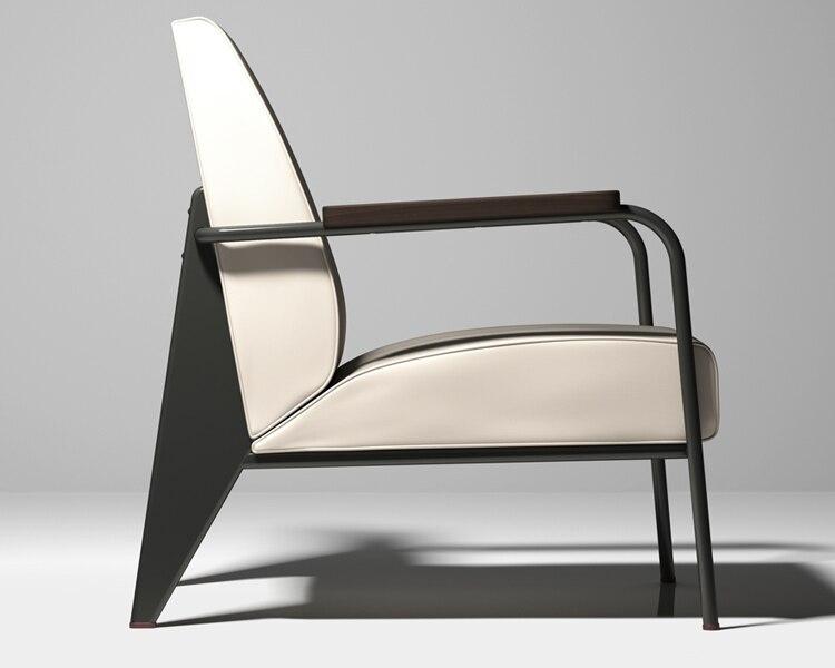 Jean Prouve Fauteuil De Salon sofa modern design sofa High quality