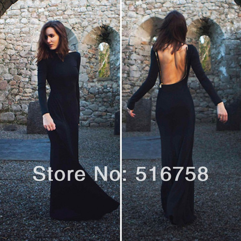 2b2266f2b3 Backless Sleeve Dress – fashion dresses