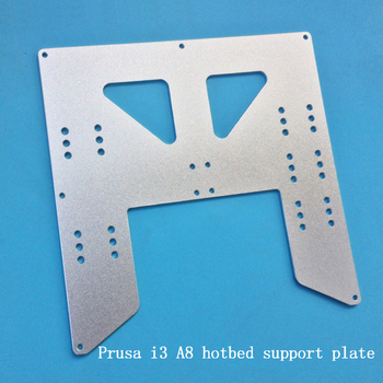 Cnc Z Axis | 3D Printer A8 Heating Platform Z-axis For Prusa I3 A8 Hotbed Support Plate CNC NC Machining Aluminum Material