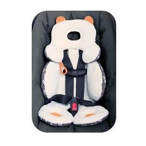 Image 4 - Algodón cochecito de bebé Liner asiento cojín suave infantil grueso cochecito de bebé alfombrilla para asiento de coche cojín de cochecito de bebé Accesorios