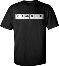 GILDAN Colour Funny Printed Kimble Periodic Table Chemistry Funny Adult Unisex T-shirt For Men And Women X1