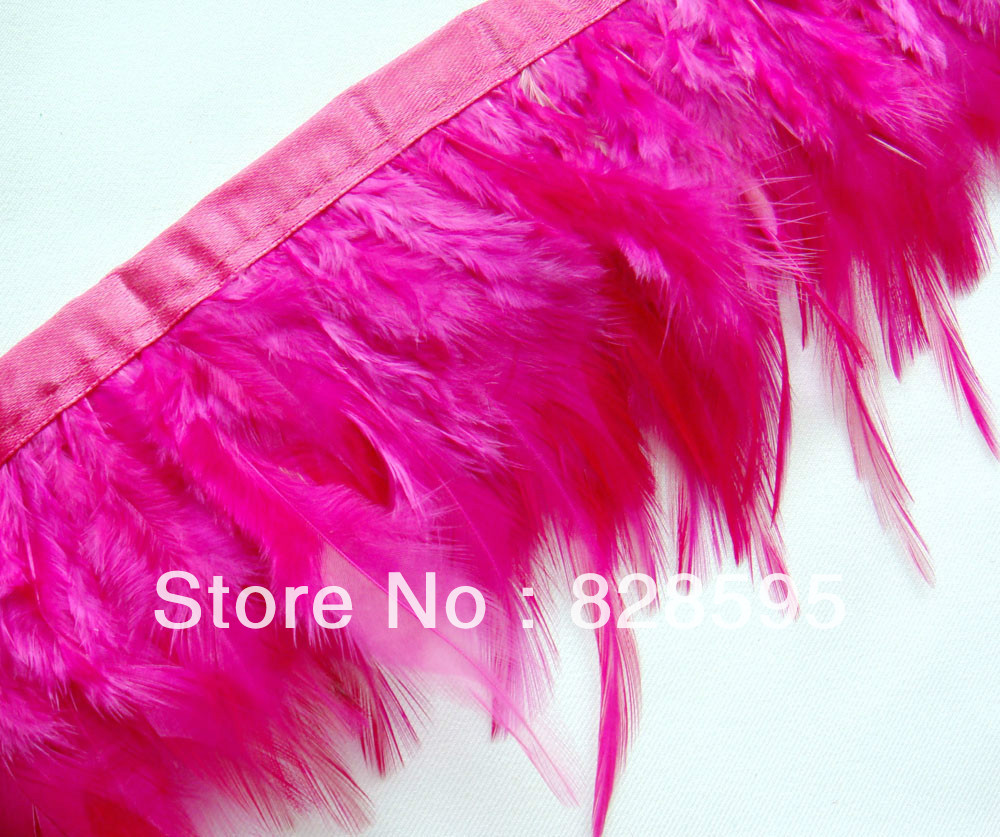 Oliver Brown Ostrich feather on fringe Trim Fascinator Material F133 PER FEET