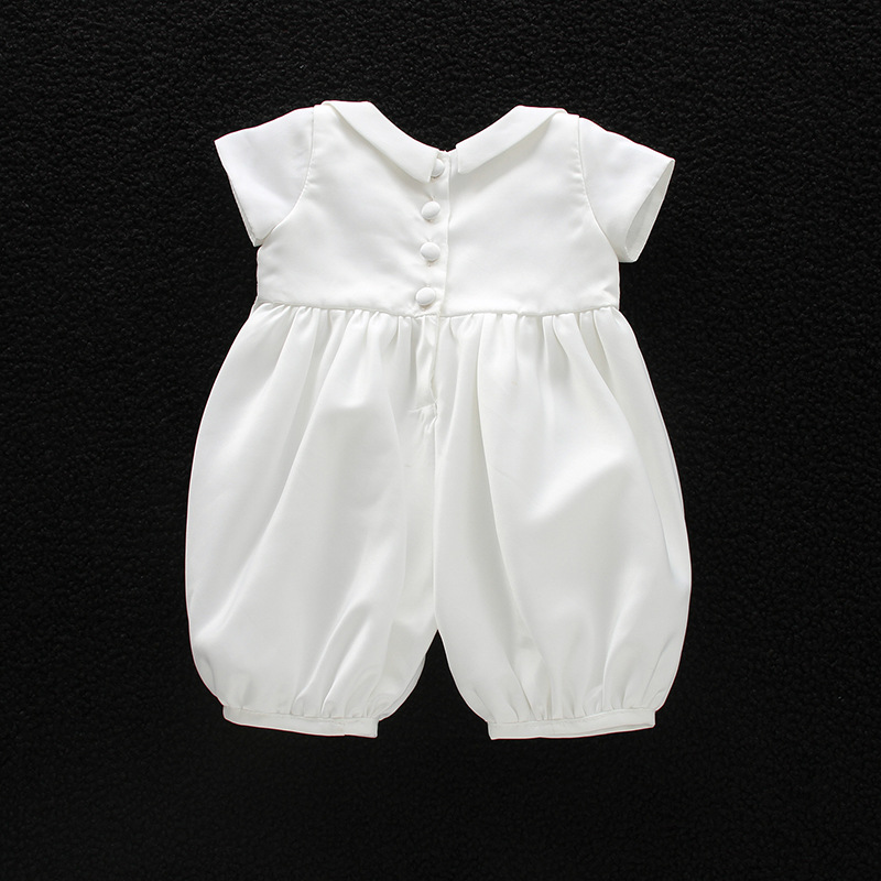 c723d97a6ba9 HAPPYPLUS Summer Baby Boy Christening Outfit Infant Boy Wedding Romper Hat  Formal Gentleman Suits Baptism Baby Boy Clothes-in Rompers from Mother    Kids on ...