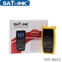 Orignal Satlink WS 6933 HD Satellite Finder For Satellite TV Receiver Support HD Output Digital Satellite Meter