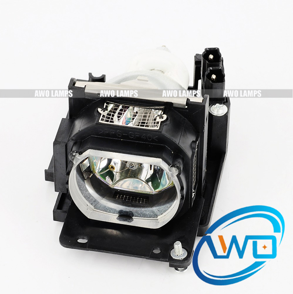 AWO Replacement Lamp Compatible with Housing VLT-XL5LP for MITSUBISHI LVP-XL5C/SL5U/XL5U/XL6U free shipping new original projector lamp vlt xl5lp for lvp sl4su lvp xl5u sl5u defender xl5u defender xl6u