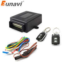 Eunavi universal 12V New Universal Car Auto Remote Central Kit Door Lock Locking Vehicle Keyless Entry System hot selling