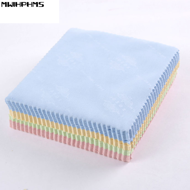 70pc/lot clean wipes 13x13cm Cleaning Cloth Microfiber Utility for mobile phone screen Tempered Glass camera/ LCD screen