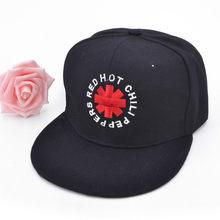 New Rock Brand Red Hot Chili Peppers Rock Cap Cotton embroidery Mens Baseball  cap Rock Cap Men women Adjustable snapback hats ad6e29a62009