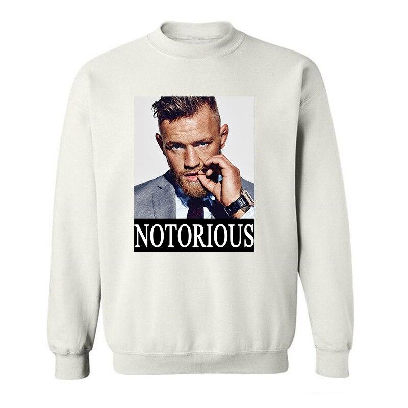 2017 Teenage Youth Funny Conor Mcgregor funny Hoodies Sweatshirts for men