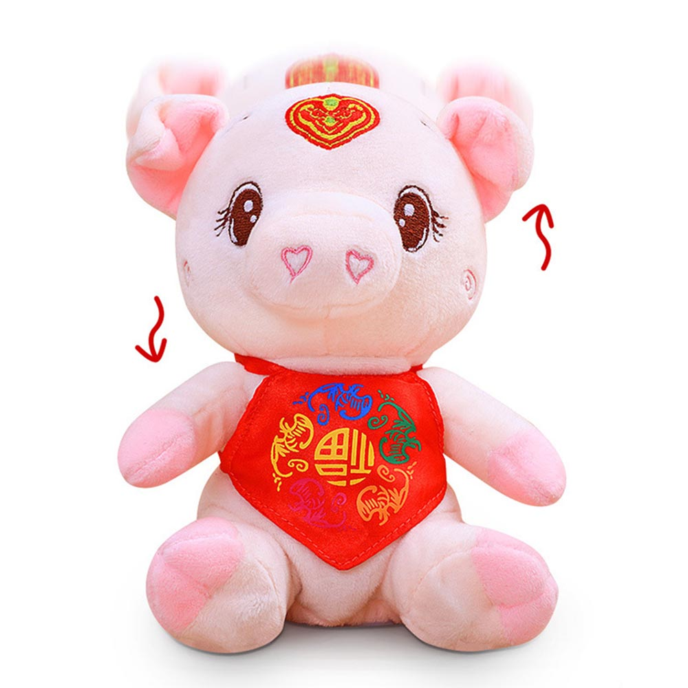 Learning & Education Electric Plush Childrens Pig Penguin Fleshy Bear Jumping Ball Rechargeable Singing Recording Creative Toy Educational Toys