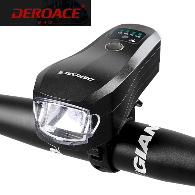 T6 Led Usb Rechargeable Bicycle Lamp Induction Bicycle Avant Phare