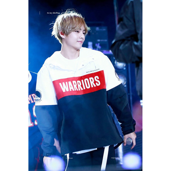 BTS BT21 Bangtan Boys V Jackets Love Yourself Windbreaker Coat Autumn Winter Comfort Long Sleeve Hooded Women Unisex Outwear bts v warriors jacket