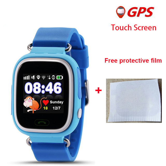 GPS Q90 Touch Screen WIFI Positioning Smart Watch