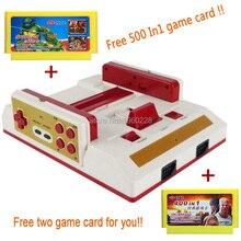 Nueva Consola de Juegos de Vídeo Para TV Con Gamepad Inalámbrico HD HDMI Salida de TV Para 8bit TV Familia juego + 500 in1 400 In1 juego tarjeta