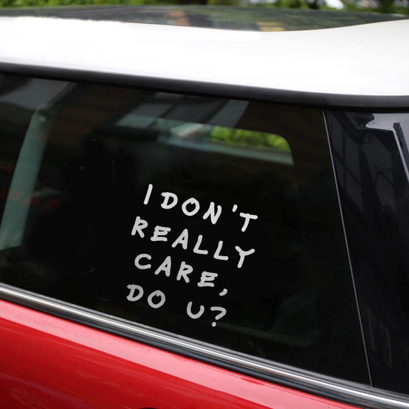 Funny Car Stickers Quotes Satu Sticker