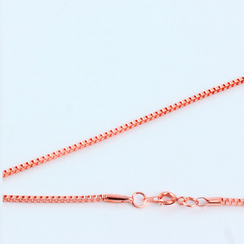 """Necklace Chain With Round Clasp End Connector Fashion 9 Colors 16-40"""" Jewelry Iron Metal 1.5/2/2.4/3.2mm Venice Box Good"""