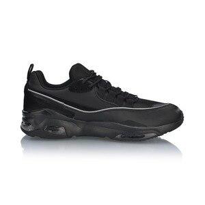 Image 2 - Мужские прогулочные туфли Li Ning BUBBLE FACE II, носимые Нескользящие удобные спортивные туфли с подкладкой, кроссовки для фитнеса AGCP005 SJFM19
