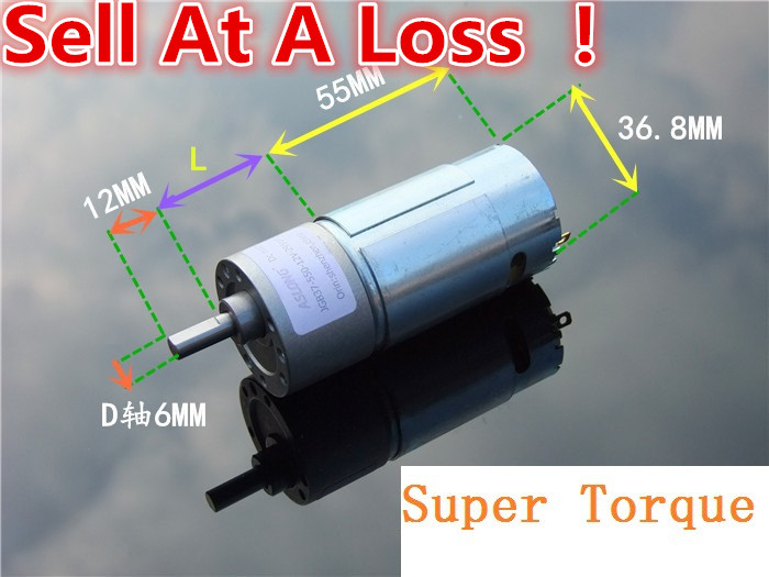 DC12V/24V 8-Model 50-600RPM Mini Electric Reduction DC Gear Motor Powerful Torque DIY Robot Car Engine Toys Parts Sell At A Loss j52b diy technology model making solar energy dc motor electric fan hand making teaching students use sale at a loss brazil