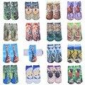 3d Печатные Носки Женщины Новый Забавный Kwaii Low Cut Лодыжки Носок Летний Новый женская Мода Повседневная Хлопок Kwaii Животных носки