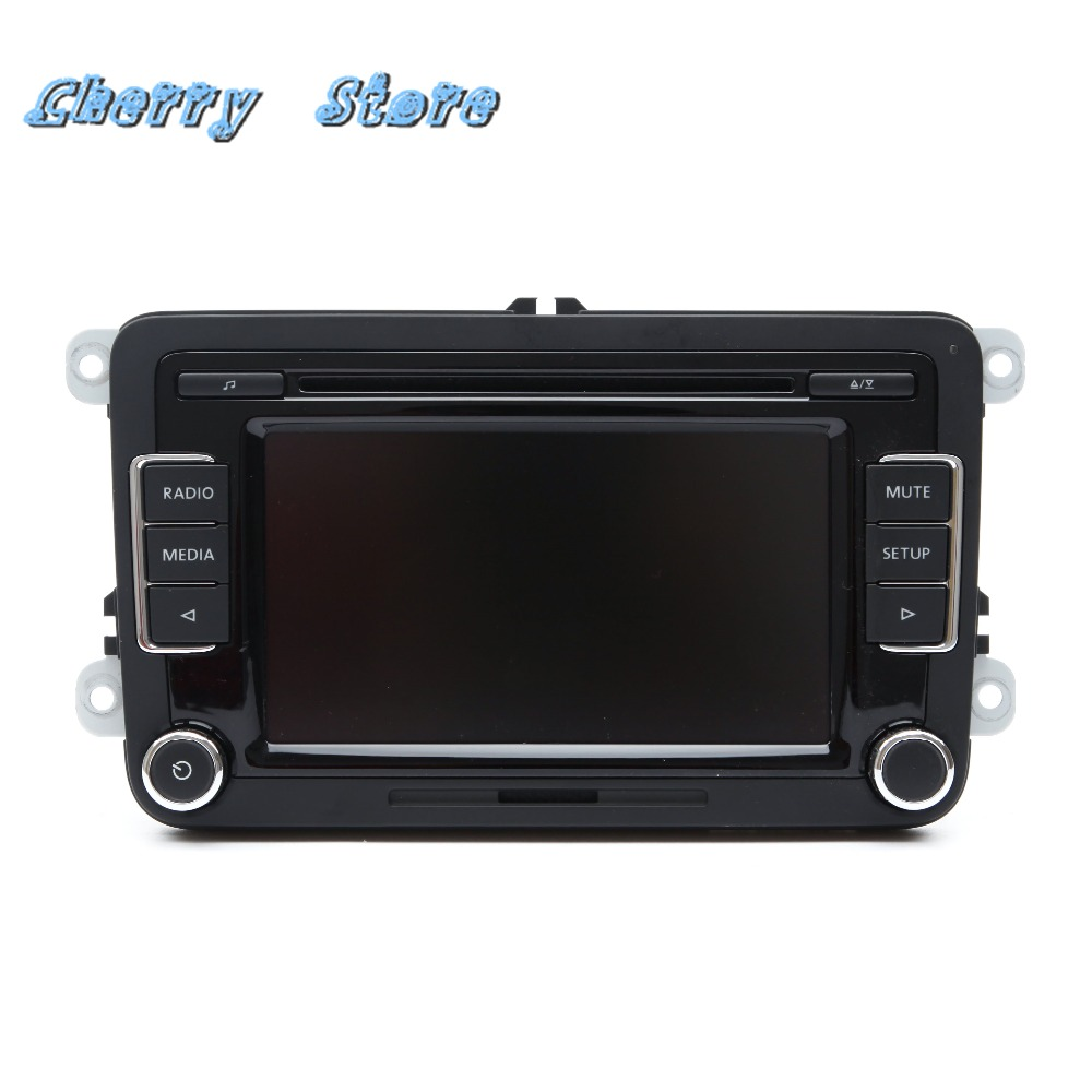 NEW 3AD 035 190 MP3 Player Support USB AUX OPS Reverse Parking Image RGB  Camera For VW Jetta Golf MK5 6 Passat B6 Tiguan RCD510