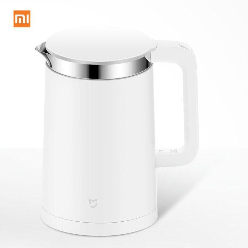 Черная пятница Xiaomi Mijia постоянной Температура Smart Управление Электрический чайник воды 1.5L 12 Hour термостат Поддержка приложение телефона