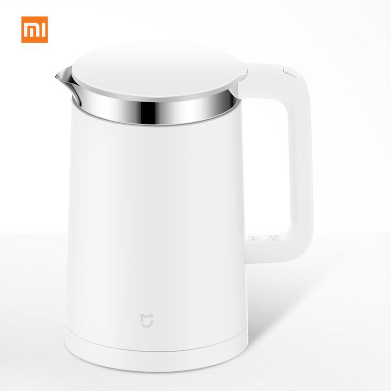 Xiaomi Mi Mijia Constant Temperature Smart Control Electric Water Kettle 1.5L 12 Hour thermostat Support with Mobile Phone APP smart app control original xiaomi mijia 1 5l constant temperature electric water kettle 24 hour thermostat hot water maker