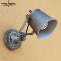Retro Vintage LED Wall Lights Fixtures Bearoom Home Lighting Loft Industrial Wall Sconce Applique Murale Beside Lamp